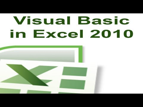 Excel 2010 VBA Tutorial 54 - ActiveX Controls - Command Button