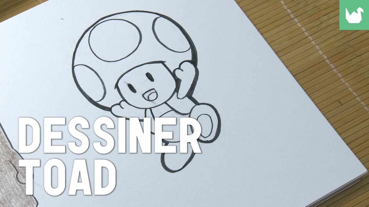 dessiner toad youtube. Black Bedroom Furniture Sets. Home Design Ideas
