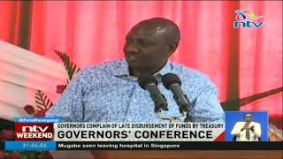 DP Ruto tells governors to cooperate with the government