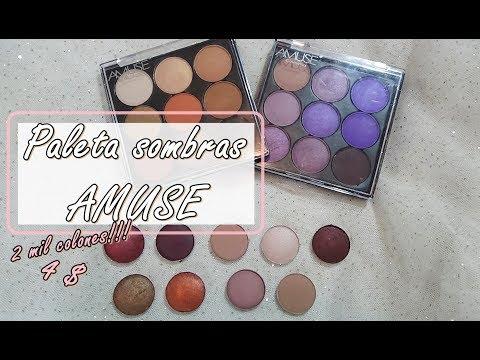 Amuse cosmetics - Paleta sombras de 4 dolares!?