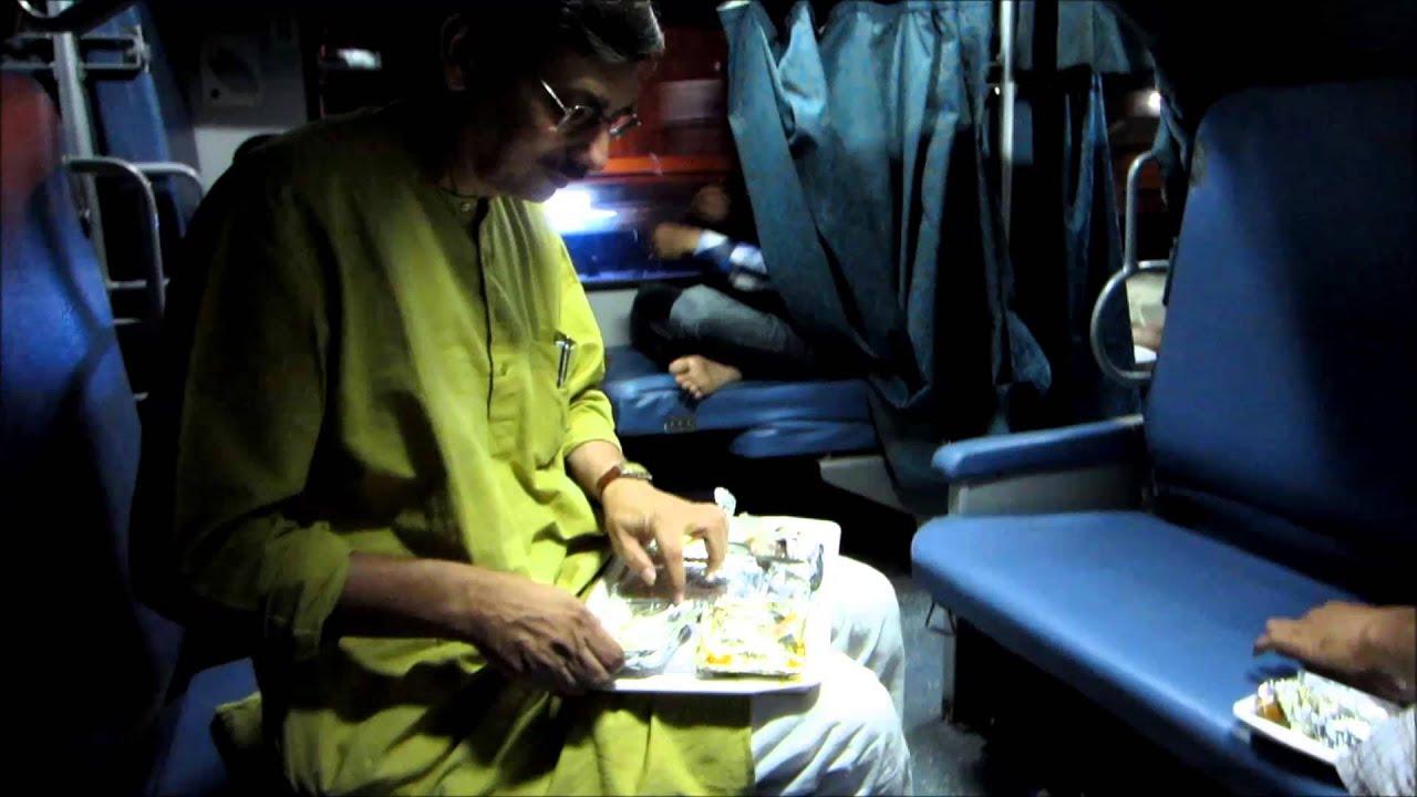 full journey on india s fastest train sealdah new delhi