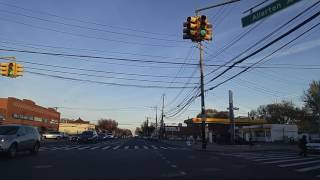 Driving by Allerton in the Bronx,New York