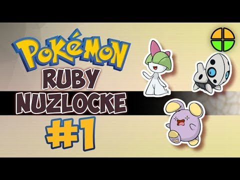 Pokemon Ruby Nuzlocke - The Rules of the Game  EP 01  TheAltPlay