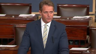 Flake slams Trump's attacks on press freedom and truth