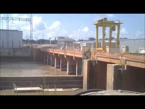 Visita à UHE de Santo Antônio em Porto Velho