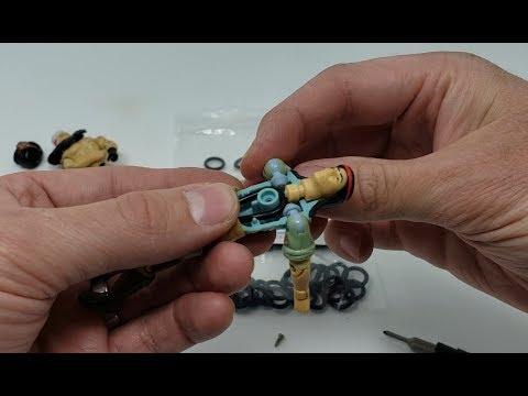 "100 Gi Joe 3-3//4/"" O-Ring T Waistband O-Rings From Professor Foam™"