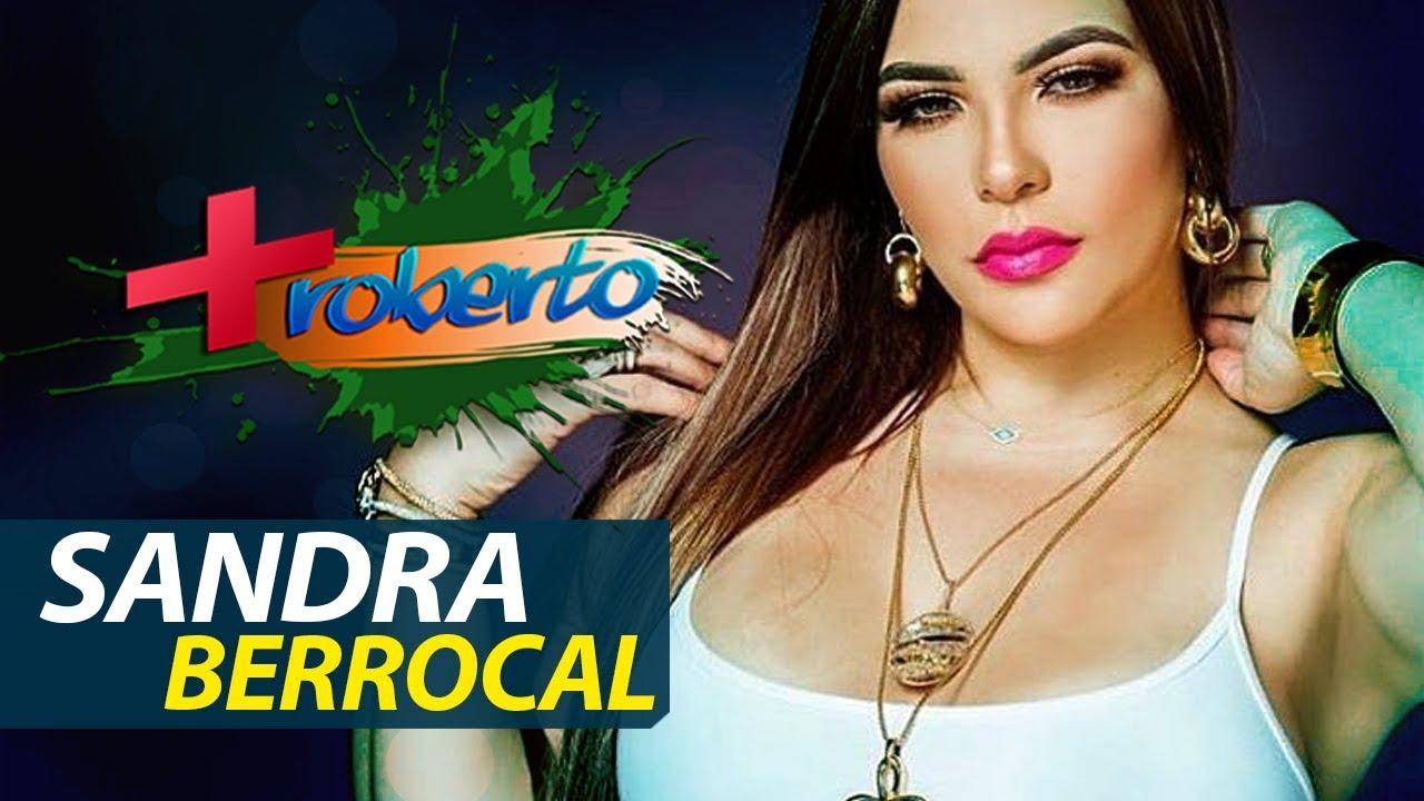 """""""YO ESTOY BUENA"""" La presentadora SANDRA BERROCAL en Mas Roberto"""