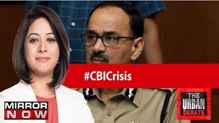 CBI Chief Alok Verma shunted out again | The Urban Debate With Faye D'Souza