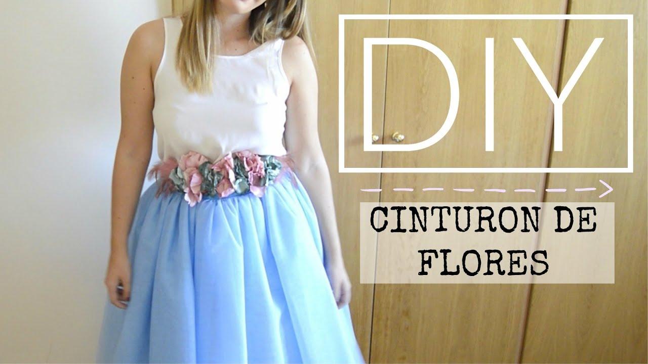 hermosa en color comprar baratas mejor venta DIY - CINTURON DE FLORES LOW COST | Lorena Gil