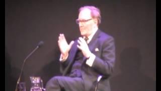 Robert Hardy at Richard Burton diaries Cheltenham Literary Festival pt 2