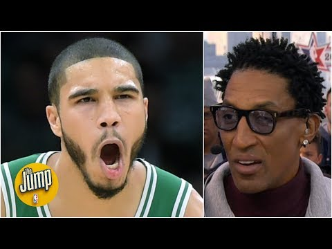 Jayson Tatum is one year away from truly dominating - Scottie Pippen | The Jump