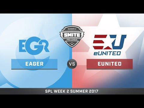 SPL Summer Split NA Eager vs eUnited Game 1