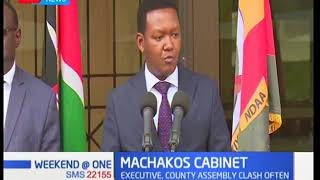 Governor Mutua defies County Assembly, appoints seven CECs