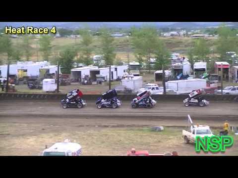 7-16-2012 Ascs Northwest Region Heat Races 3 & 4 Southern Oregon Speedway