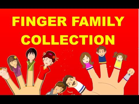 Thumbnail: Finger Family Collection - 15 Finger Family Nursery Rhymes | Daddy Finger Nursery Rhymes