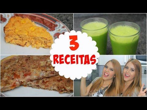 3 RECEITAS FÁCEIS E SAUDÁVEIS - Sisters Lellis