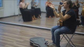 Уроки ритмики фламенко (Compas) в школе Фламенкомания