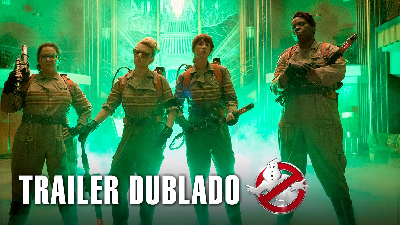 Caça-Fantasmas | Trailer dublado | 14 de julho nos cinemas