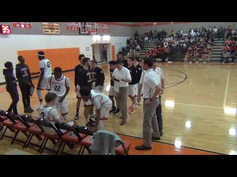Rockville Rams vs. Damascus Hornets Varsity Boys' Basketball--January 19, 2018