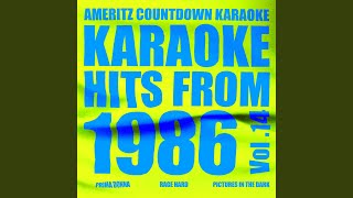 Saturday Love (In the Style of Cherrelle and Alexander O'neal) (Karaoke Version)