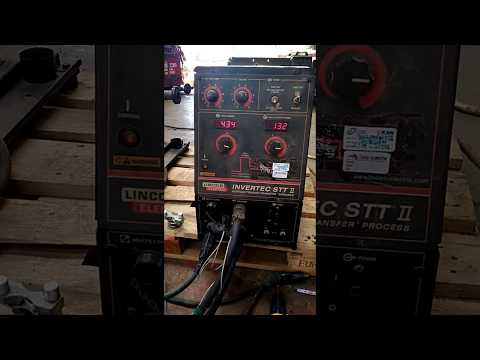 Invertec STT Welder With Feeder LN 25PRO Dual Power