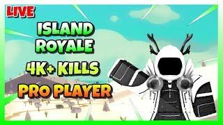 🔴 ROBLOX ISLAND ROYALE 🏝️ | FR0ST VS FE4R CLAN WAR ⚔️ | PRO PLAYER 😱 🔴