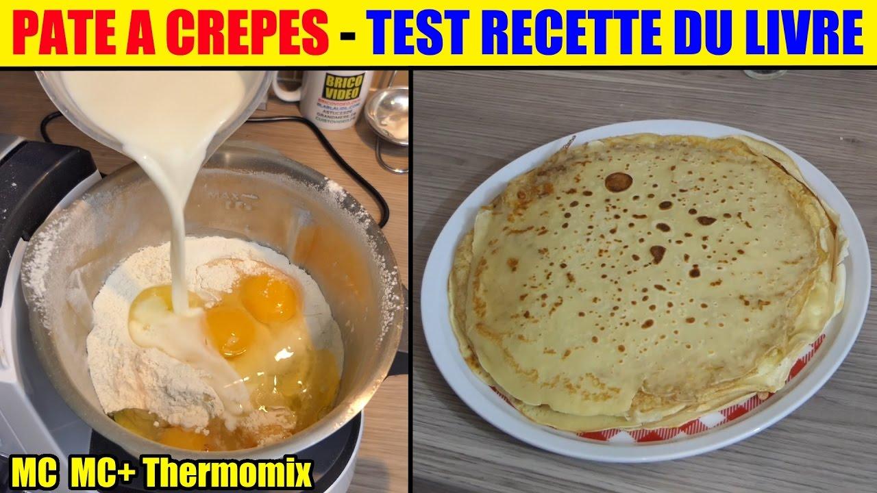 Recette crepe monsieur cuisine plus thermomix test recette for Monsieur cuisine plus vs thermomix