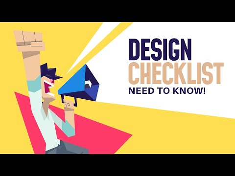 STOP Before You Send Any Designs!! (7 Part Design Checklist)