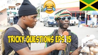 Trick Questions In Jamaica Episode 15 [Santa Cruz St Elizabeth] @JnelComedy