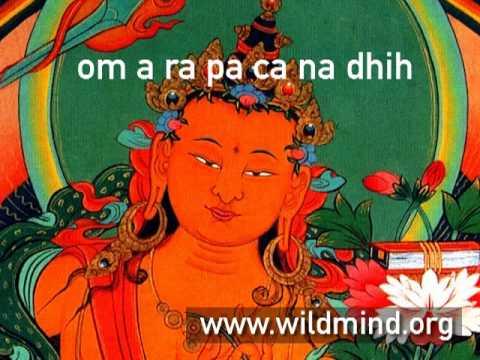 Mantra of the Bodhisattva Manjushri