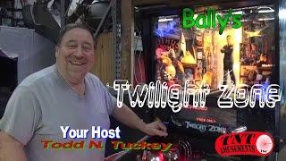 #893 Bally TWILIGHT ZONE Pinball Machine - TNT Amusements