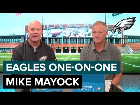 Mike Mayock Sits Down To Discuss All Things Eagles | Eagles One-On-One