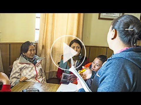 Workshop on depression awareness - Tibet Charity India 2017