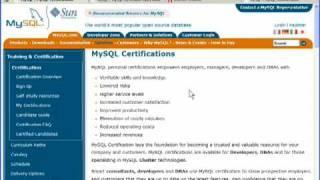 MySQL Certification Programs