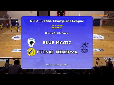 Futsal Minerva V Blue Magic | Uefa Futsal Champions League Highlights