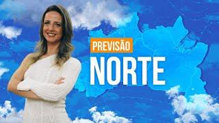 Previsão Norte - Grandes acumulados de chuva entre Roraima e Amapá
