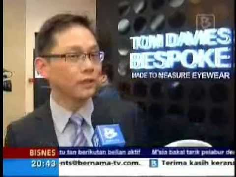 Bernama TV - Media Launch TD Tom Davies by Eyecon - BM