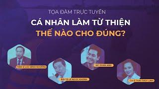 """MC Phan Anh, Thái Thùy Linh chia sẻ """"Cá nhân làm từ thiện thế nào cho đúng?""""   VTC Now"""