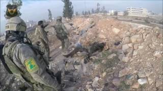 Работа бойцов Сил специальных операций ССО в Сирии