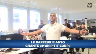 Rappeur Sofiane Mon ptit loup | en live d'un journal