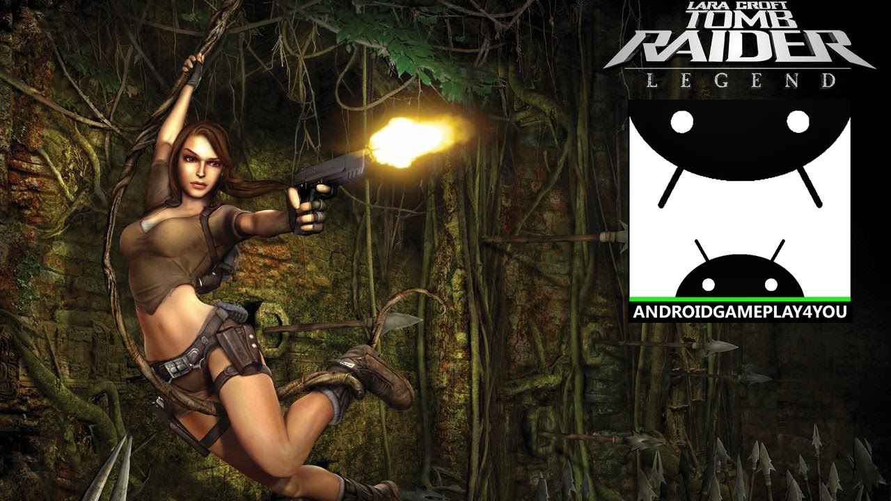 Tomb Raider Legend Ppsspp Emulator Android Gameplay Youtube