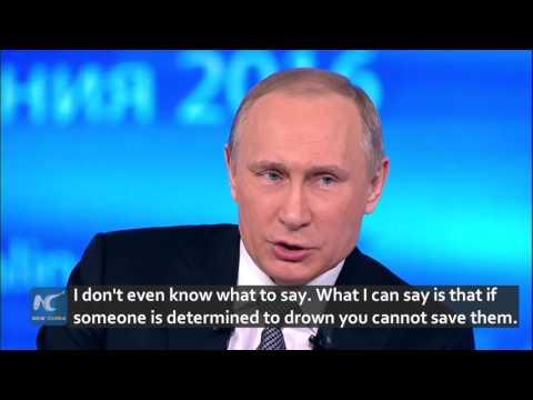 If Poroshenko and Erdogan were drowning, who would Putin save first?