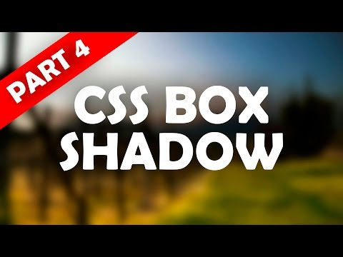 CSS BOX SHADOW | A COMPLETE WORKFLOW | RESPONSIVE WEB DESIGN | BEGINNER TO ADVANCED | PART 4