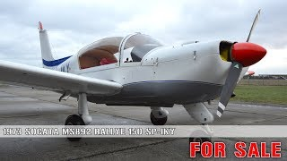 Gambar cover Socata MS892 Rallye 150 SP-IKY FOR SALE