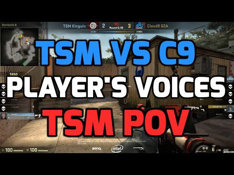 Katowice 2015 - TSM vs C9 with players communications (TSM POV in Danish)
