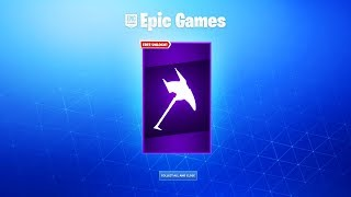 *NEW* FREE PICKAXE IN FORTNITE! (Did you get it?)