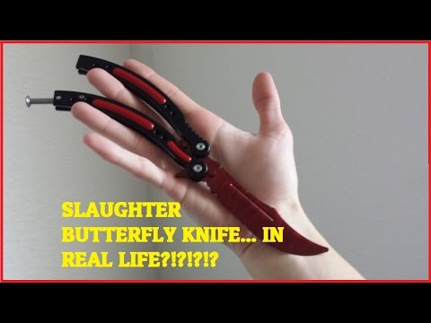$24 CS:GO Butterfly Knife... IN REAL LIFE?!?!?