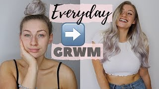 EVERYDAY GRWM | HAIR, MAKE-UP, NAILS, TAN & OUTFIT!
