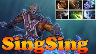 Dota 2 - SingSing 6600MMR Plays Anti-Mage  - Ranked Match Gameplay