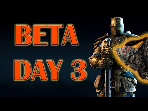 For Honor - Open Beta Day 3 - High Level Warden - Warlord's Headbutt Edition